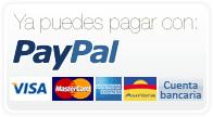 Aceptamos el pago mediante Paypal