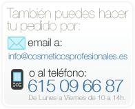 Pedidos por teléfono e email